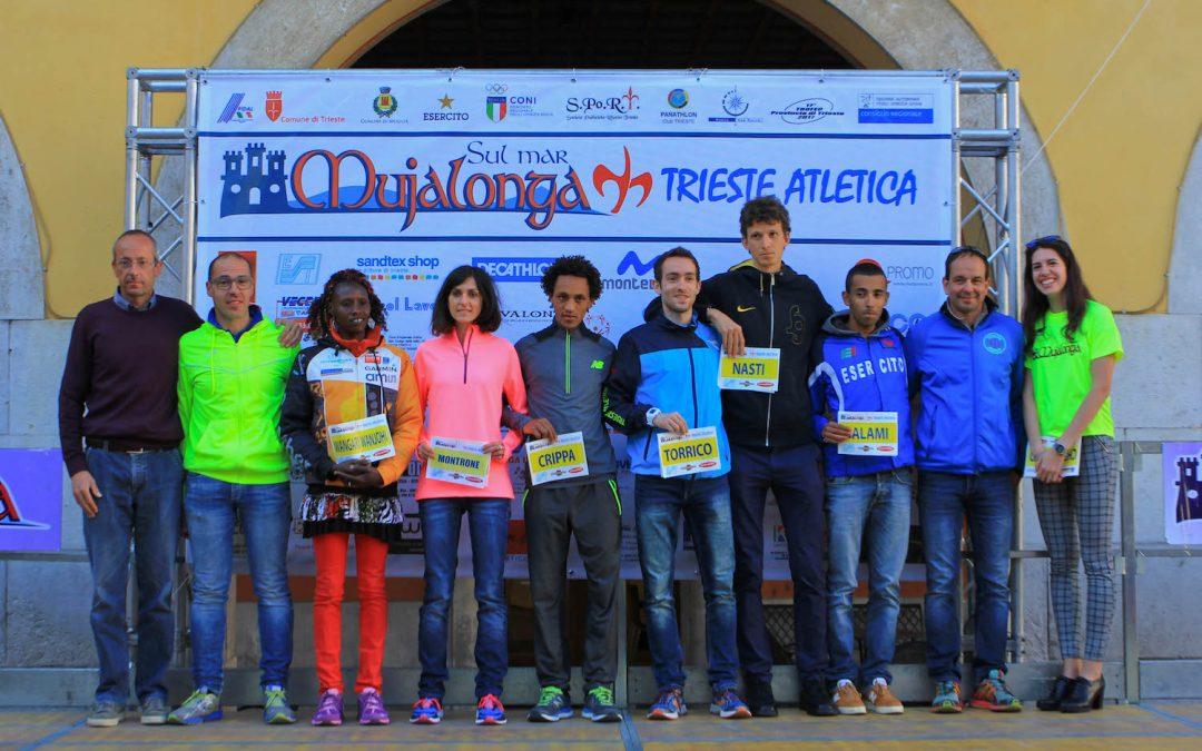 Presentati i top atleti della 14a edizione della Mujalonga sul Mar